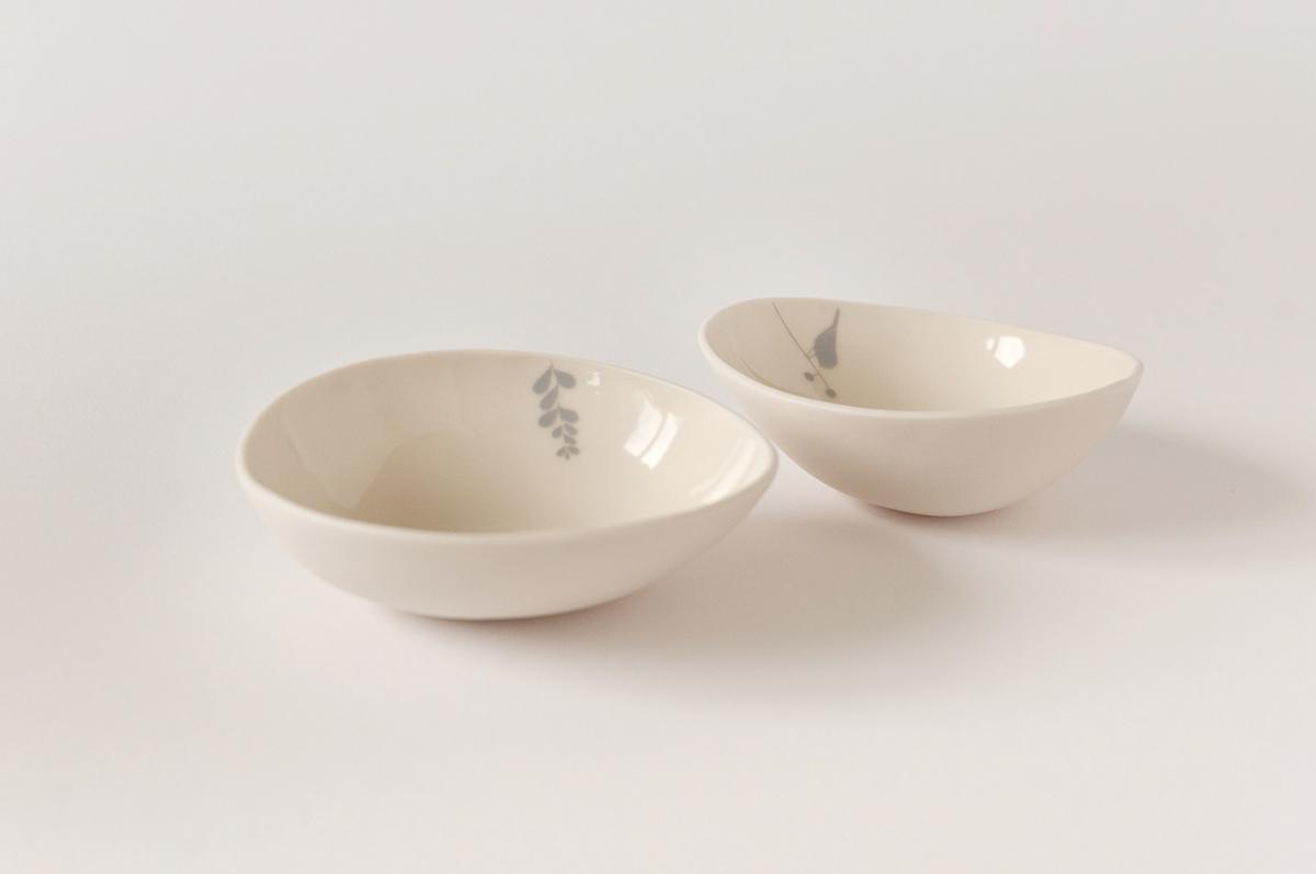 illustrated ceramic bowl