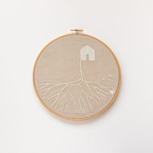 embroidery circles with roots 1