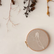 embroidery circles with roots 4 - decor